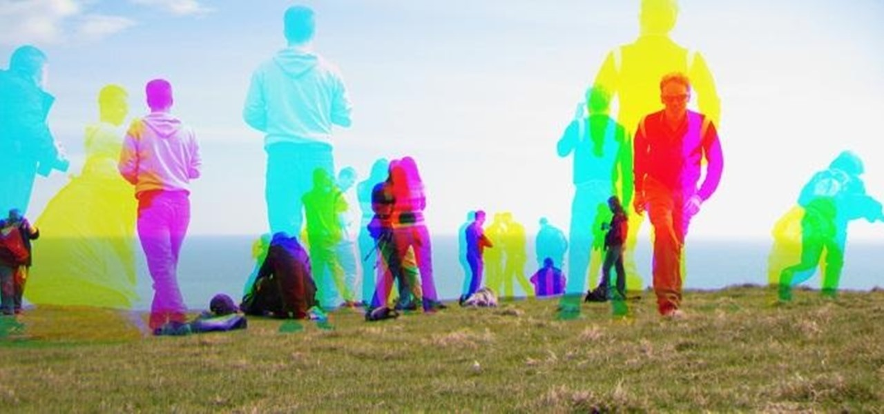 Use the Harris Shutter Effect to Get Crazy, Colorful Action Photos
