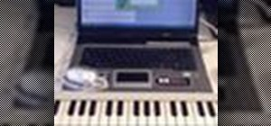 Enter keyboard notes in the Pizzicato music software