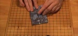 Origami a catamaran