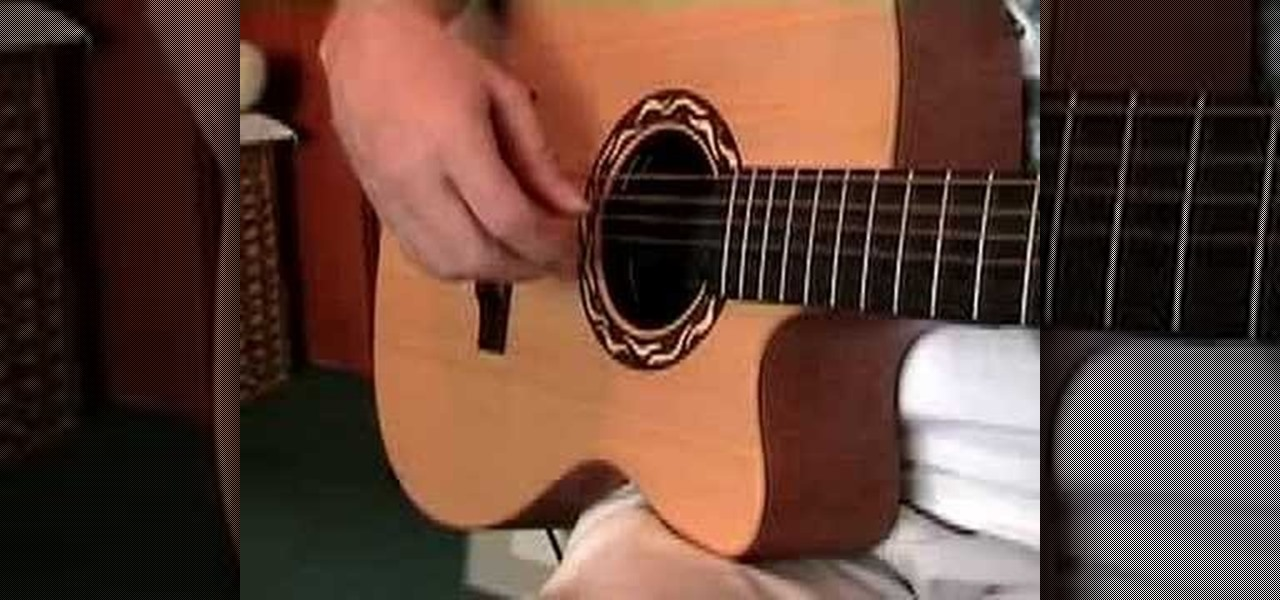 how to learn guitar fingerpicking techniques acoustic guitar wonderhowto. Black Bedroom Furniture Sets. Home Design Ideas