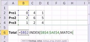Create a defined name for a dynamic range in MS Excel