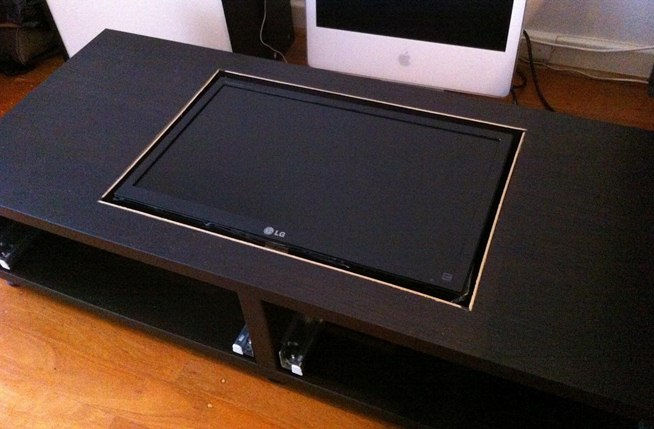 coffee table arcade plans