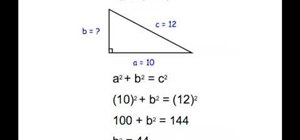 Understand the Pythagorean Theorem