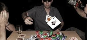 Bluff in Texas Hold em poker