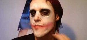 Create a Joker (Dark Knight) makeup look