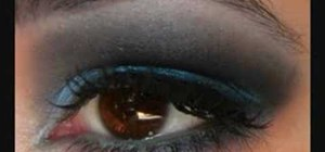 Do a Backstreet Boys Black and Blue inspried eye look