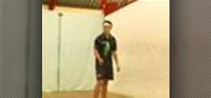 Do backhand return serve options for squash