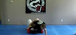 Do the guillotine choke from mount