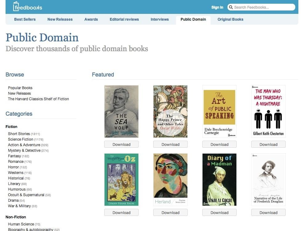 How To Download Tons Of Free Ebooks Online For Any Ereader