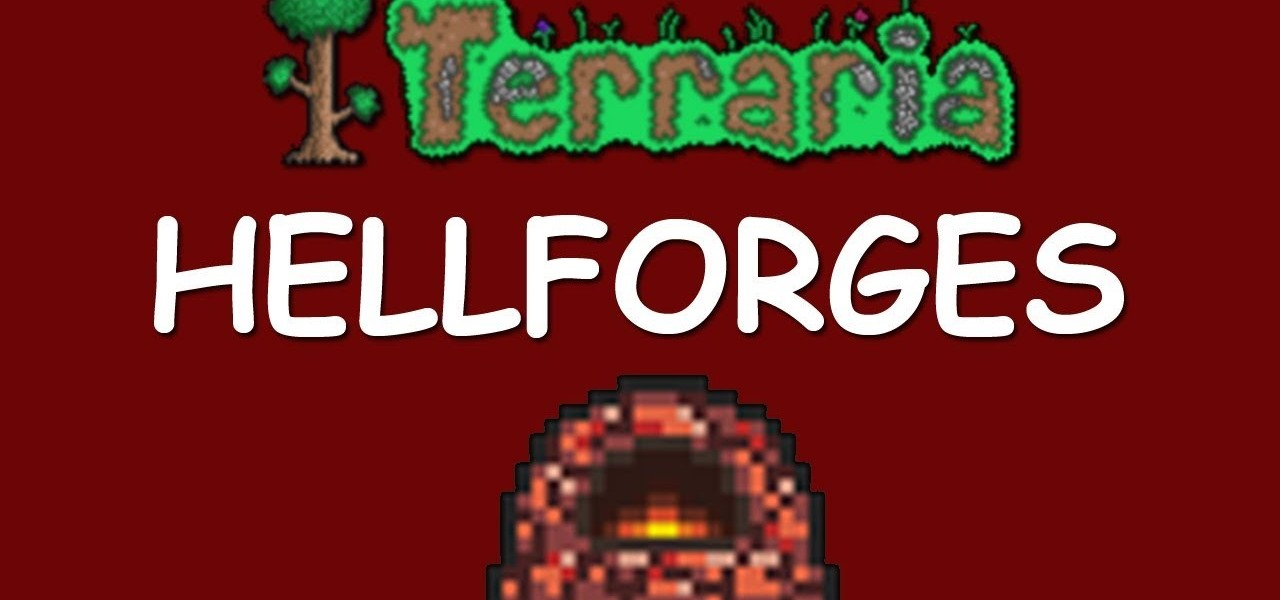 terraria how to build a forge