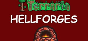 Get a hellforge in your house in Terraria