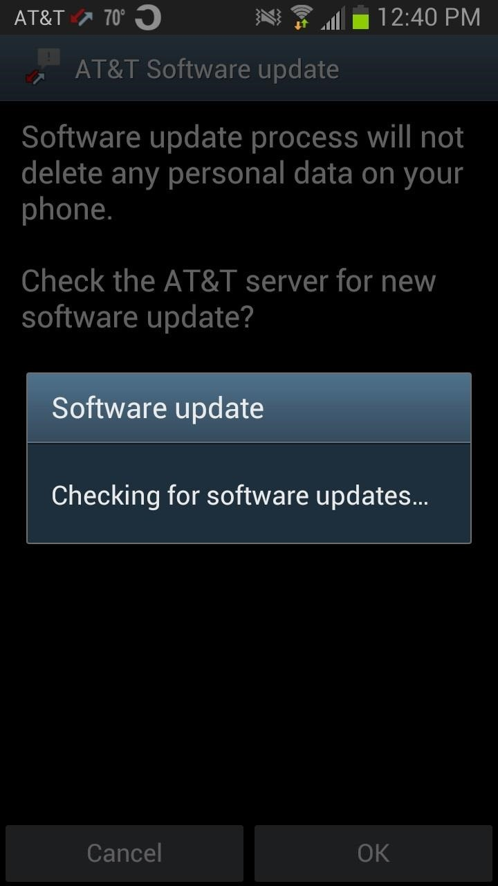 How to updating android os
