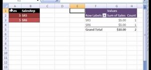 Dump data from an Excel pivot table with a macro