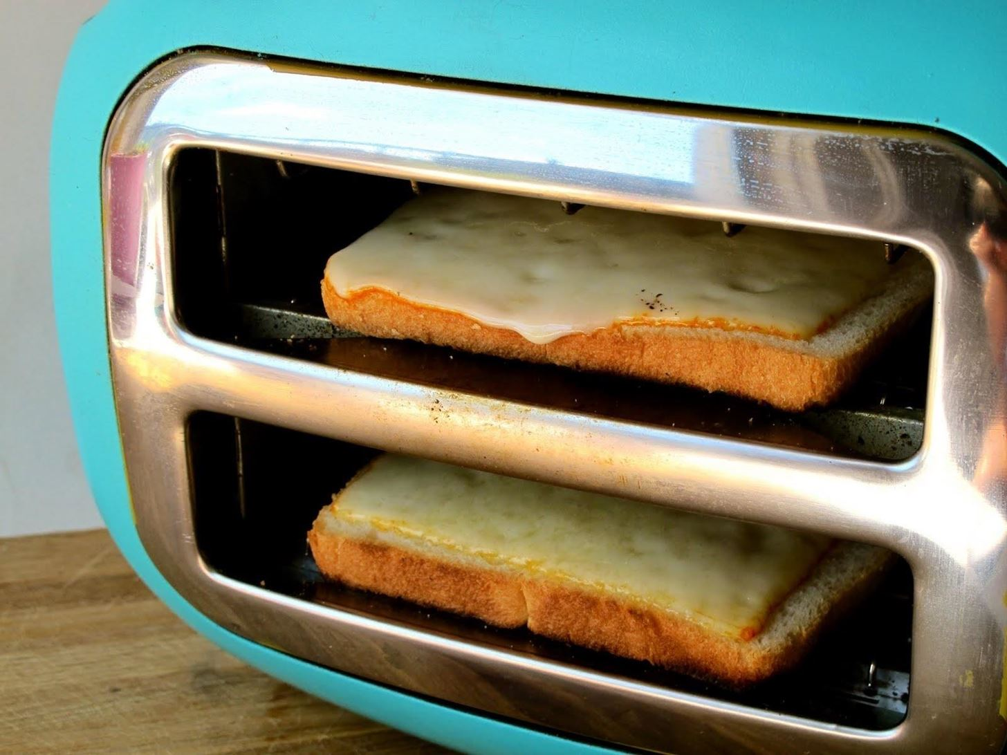 Method # 2: Tip The Toaster On Its Side