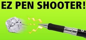Make a pen shooter for office or classroom warfare, for fun