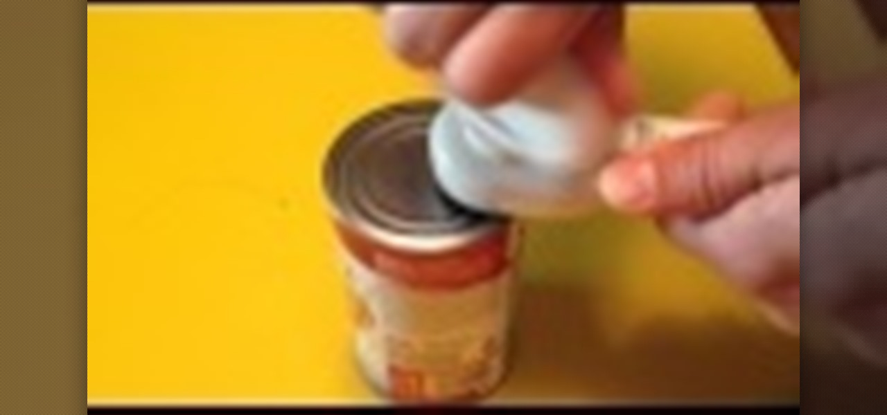 Use a Can Opener That Doesn't Leave Sharp Edges