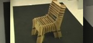 Make a cardboard chair