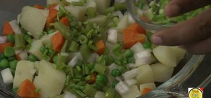 Make a Russian salad