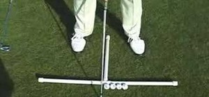 Position the ball for your golf shots