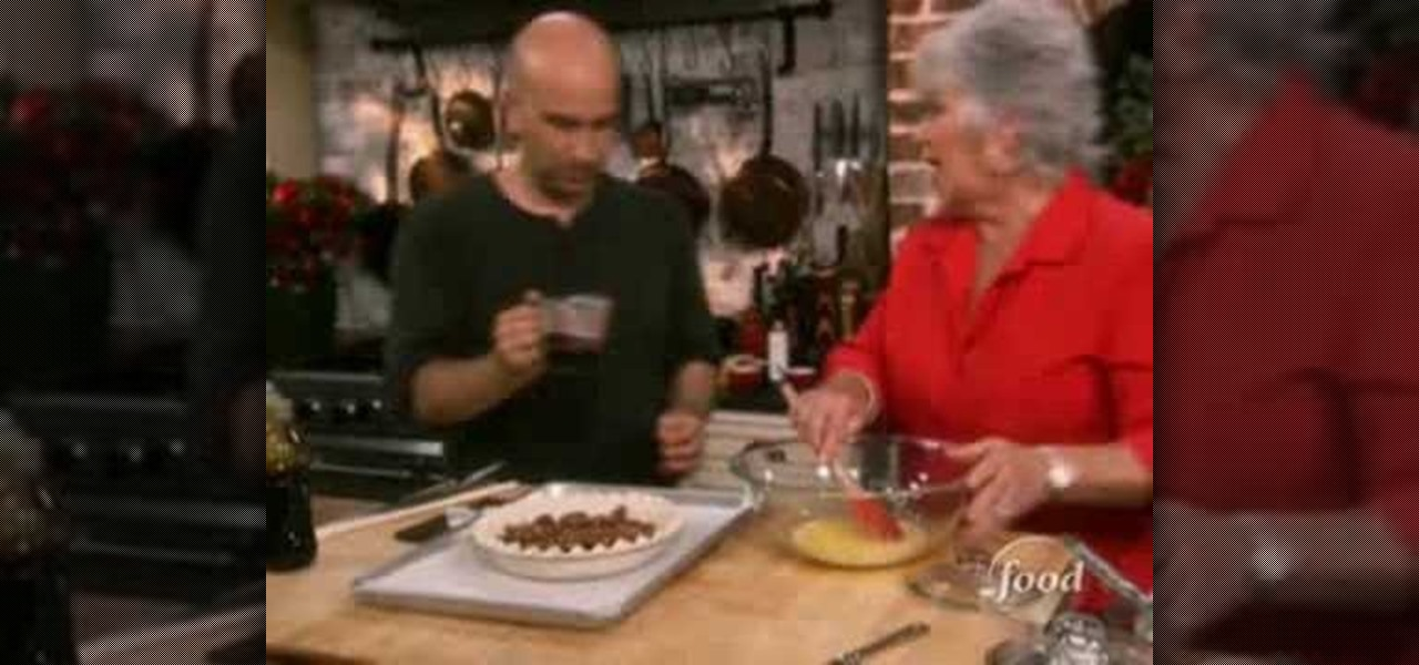 How To Make Chocolate Pecan Pie With Paula Deen Dessert Recipes