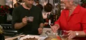 Make chocolate pecan pie with Paula Deen
