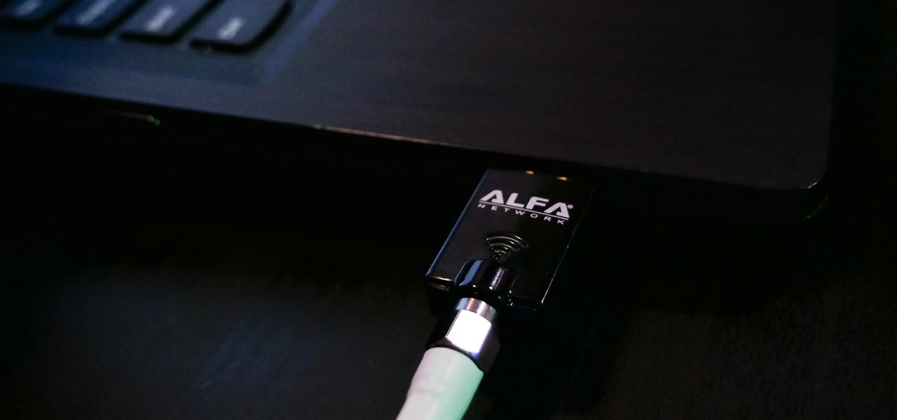 Hack 5 GHz Wi-Fi Networks with an Alfa Wi-Fi Adapter