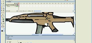 Draw guns in Macromedia Flash