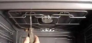 Replace your grill element in Neff and Bosch cooker