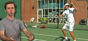 Smash your tennis racket like Roger Federer