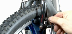Replace and align v-brake and cantilever brakes on your mountain bike