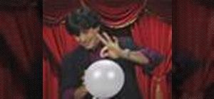 Perform an invincible balloon magic trick