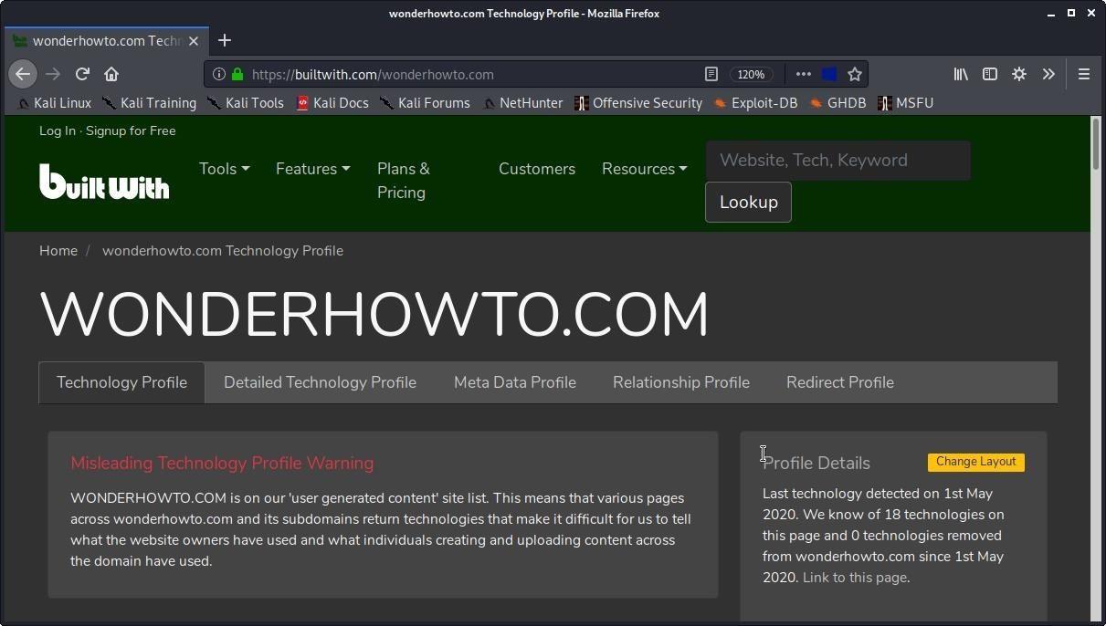 How to Fingerprint Web Apps & Servers for Better Recon