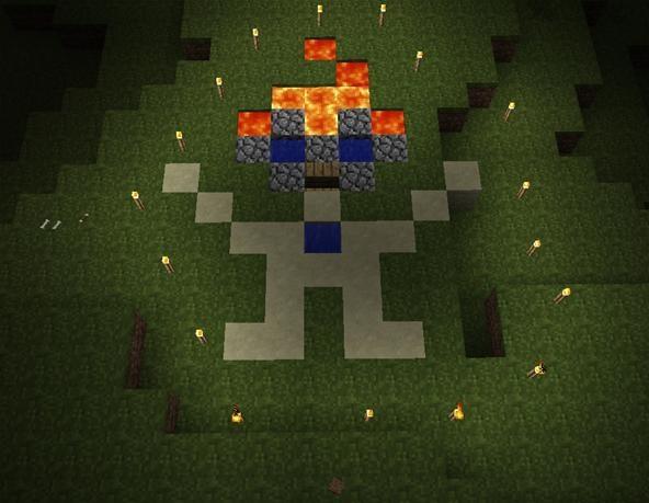 Minecraft Challenge: Minecraft Mascot