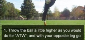 Do the Hop the World (HTW) freestyle soccer trick