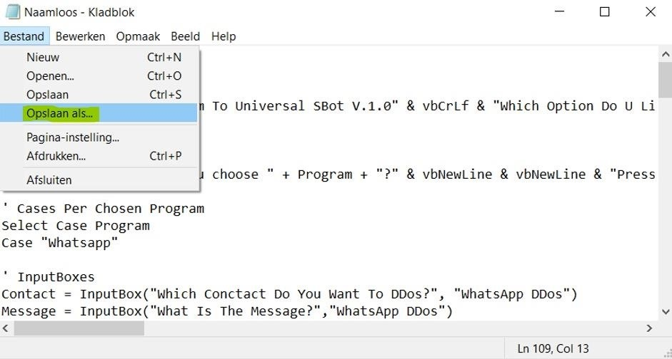 How to Spam Messages with .Vbs (Universal Spambot)