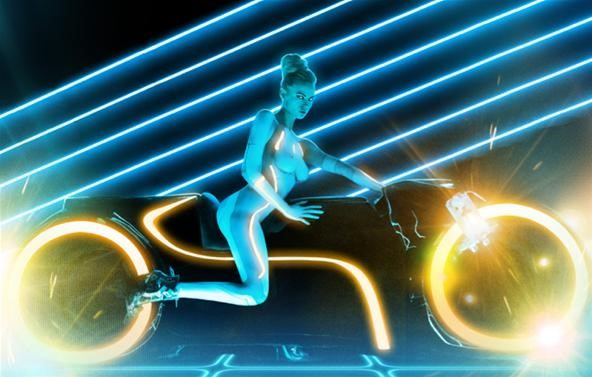 Playboy Does Tron (NSFW)