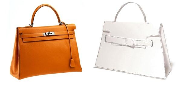 How To Print Cut Fold Your Own Diy Hermès Handbag