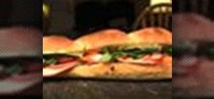 Make a banh mi sandwich