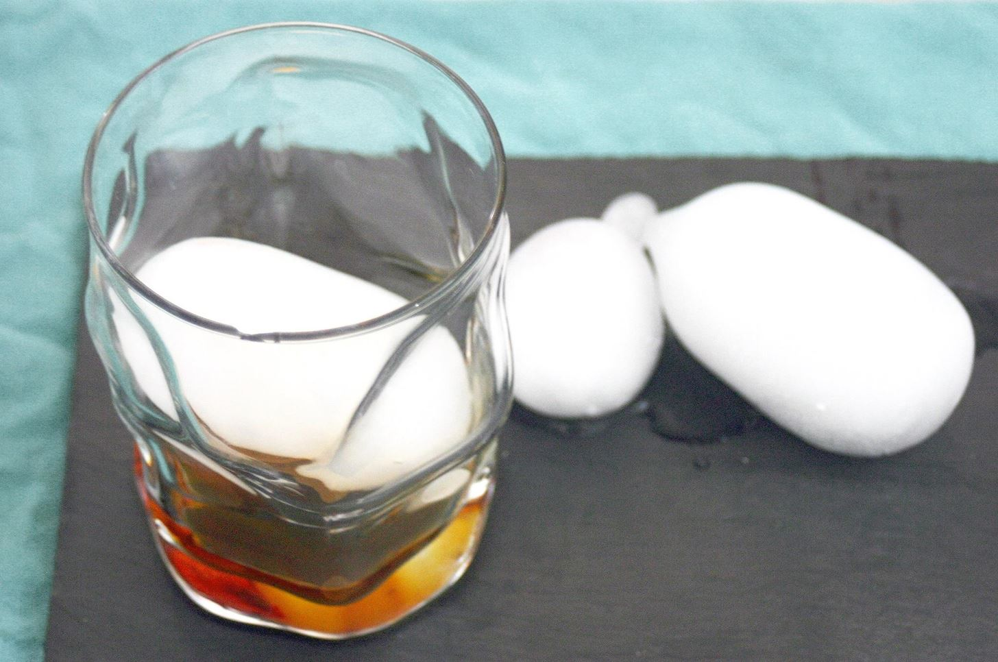 How to Make Whiskey Ball Ice Without a Mold