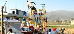 India's Human Powered Ferris Wheels