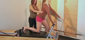Improve lumbo-pelvic stability with a Pilates Reformer