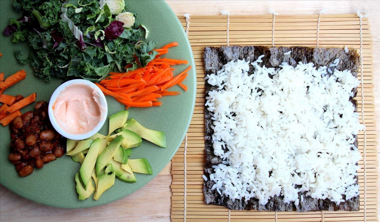 Sushi + Burrito = The Ultimate Handheld Meal
