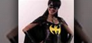 Make a Batgirl costume with Gianny L
