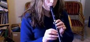 "Play ""Ode To Joy"" on the recorder"