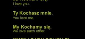 "Say ""I love you"" in Polish"