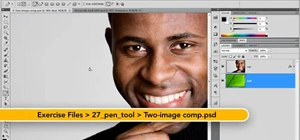 Use the Pen tool and the Paths panel in Adobe Photoshop CS5