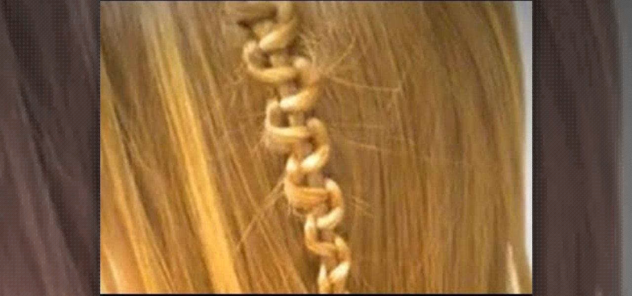 How to weave a zig zag braid into your hair for boho flair how to weave a zig zag braid into your hair for boho flair hairstyling wonderhowto ccuart Images