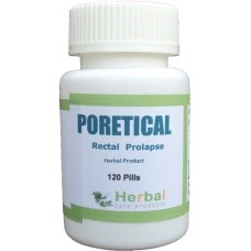 Poretical for Rectal Prolapse Treatment with Natural Herbal Product