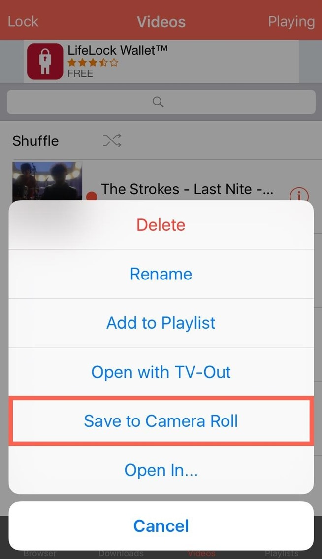 How to Save YouTube Videos Directly to Your iPhone's Camera Roll
