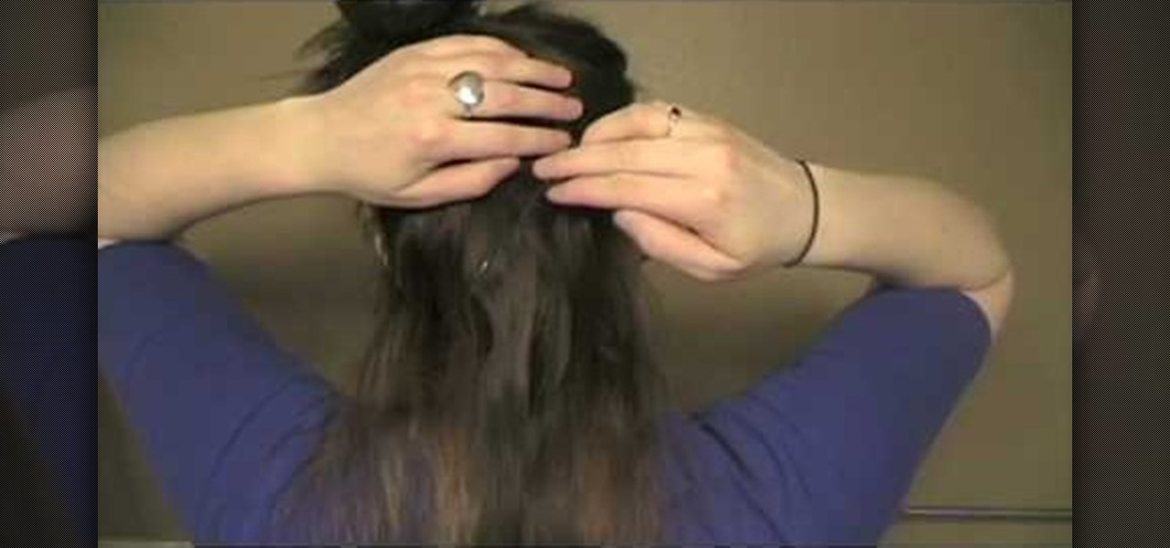 How To Insert Sparkly Hair Tinsel Hair Extensions Hairstyling
